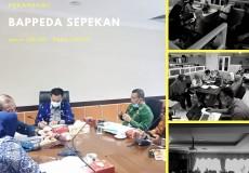 Bappeda Kota Pekanbaru sepekan Senin (29/06) hingga Jumat (03/07)