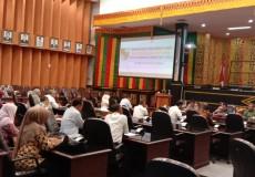 Bappeda Kota Pekanbaru lakukan Pembahasan Rancangan Awal Bersama DPRD Kota Pekanbaru