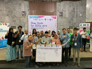 Riau Youth for Sustainable Development Goals (SDG's)